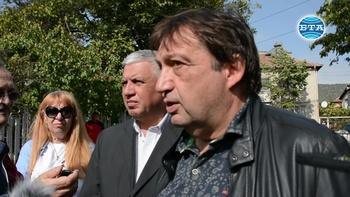 """Три свлачища по трасето на АМ """"Струма"""" е констатирала инспекция на зам.-министър Иван Шишков"""