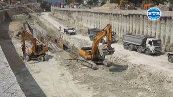 """Приключва изграждането на пилотната конструкция на новия булевард """"Левски"""" във Варна"""