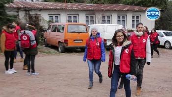 Доброволци от БМЧК направиха демонстрация на спасителни действия при бедствена ситуация