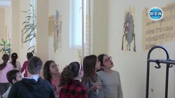Анимационни герои по стените на училище в Каварна
