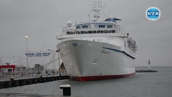 Последният за сезона круизен кораб акостира в Бургас