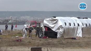 Учение за търсене и спасяване при авиационни произшествия се проведе днес във Варна