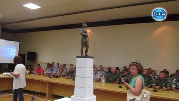 В Плевен представиха макет на паметник на воините от Девета пехотна плевенска дивизия