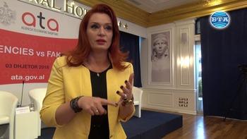 Интервю с Армела Красничи, генерален директор на Албанската телеграфна агенция /АТА/