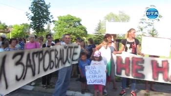 """Протестът на жителите на пернишкия квартал """"Бела вода"""" завърши с успех"""