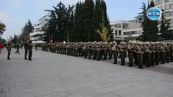 В Стара Загора изпратиха 39-я български военен контингент за участие в мисията на НАТО в Афганистан