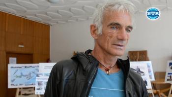 Легендата в катеренето Маурицио Дзанола пред БТА