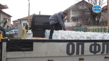 Перник получава от Държавния резерв 26 000 десетлитрови бутилки минерална вода