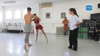 """Балет """"Арабеск"""" представя спектакъла """"Нощите"""" на световноизвестния хореограф Анжелен Прелжокаж на сцената на Музикалния театър - интервю с Наталия Найдич"""