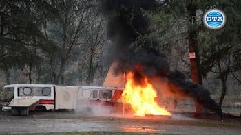Мащабно учение за реакция при инцидент с пътнически самолет се проведе днес край Старозагорски минерални бани