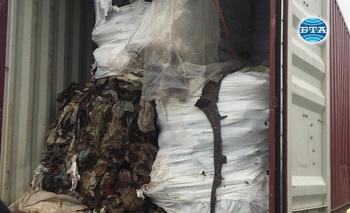 Италианските отпадъци, открити на пристанището в Бургас, не са опасни или токсични