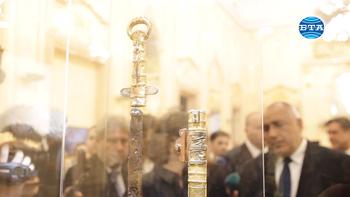 """Изложба """"Мечът на хан Кубрат"""" в Националната художествена галерия"""