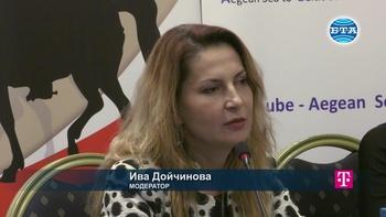 """Ива Дойчинова в панела """"Право на информация: Трансформации на медийните бизнесмодели след бума на безплатно съдържание"""""""