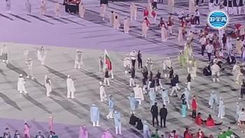 Българският флаг се развя на откриването на Олимпиадата в Токио