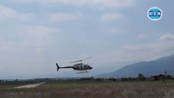 Навършват се 20 години от приемане на въоръжение в българските ВВС на вертолетите Bell-206