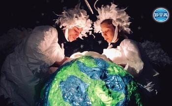 """Новаторският спектакъл """"Въздух"""" бе представен премиерно във Видинския куклен театър"""