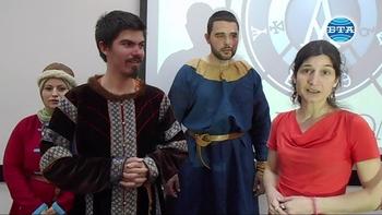В Благоевград показаха облеклото и въоръжението на средновековните българи