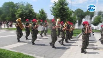 """В Плевен с тържествена церемония бе изпратен 36-ият контингент от въоръжените сили за участие в мисията на НАТО в Афганистан """"Решителна подкрепа"""""""