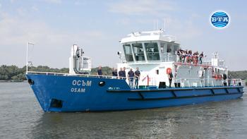 Нов кораб ще маркира плавателния път по река Дунав