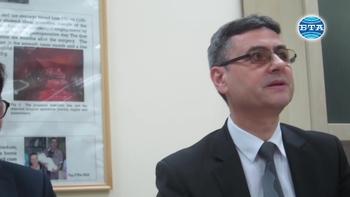 """Основоположник на феталната хирургия бе удостоен с титлата """"доктор хонорис кауза"""" на МУ-Плевен"""