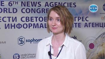 Интервю с Марина Лагутина, журналист от руската информационно-аналитична агенция Вестник Кавказа