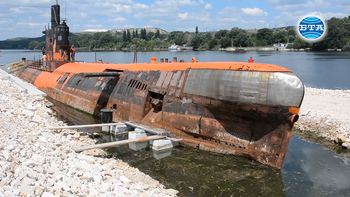 """Подводница """"Слава"""" става музей от 18 август 2020"""