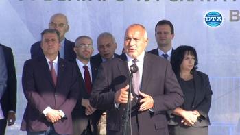 """Премиерът Бойко Борисов откри част от разширеното трасе на """"Балкански поток"""""""