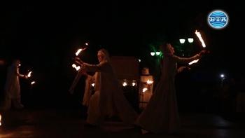 Огнено шоу за празника на София