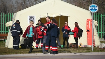 Доброволни спасителни отряди направиха демонстрация в Пловдив