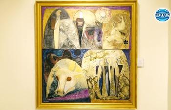 """Изложбата """"Общуване със сакралното"""" показва творби на Лика Янко в две столични галерии"""