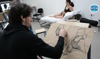 За живия модел и въображението на художника