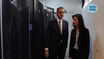 Еврокомисар Мария Габриел посети Института по информационни и комуникационни технологии на БАН