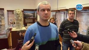 В Добрич показват реставрирана ценна икона на Три Светители ...