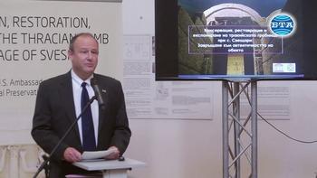 Проект ще възвърне автентичността на тракийската гробница при Свещари