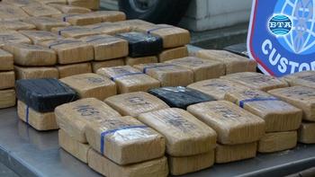 """Повече от 90 кг хероин за над 3,6 млн. лева е открит в малък камион на ГКПП """"Дунав мост"""""""